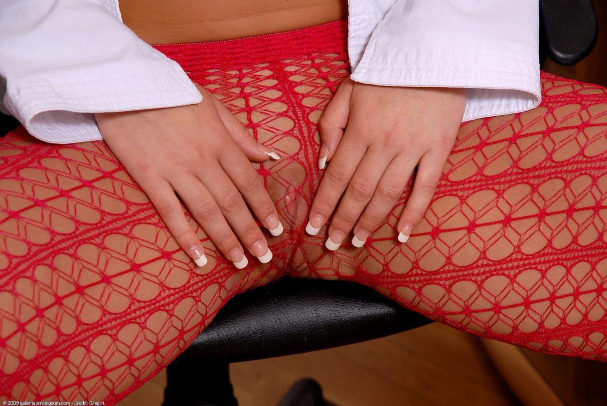 nylon feet in bondage – Porno