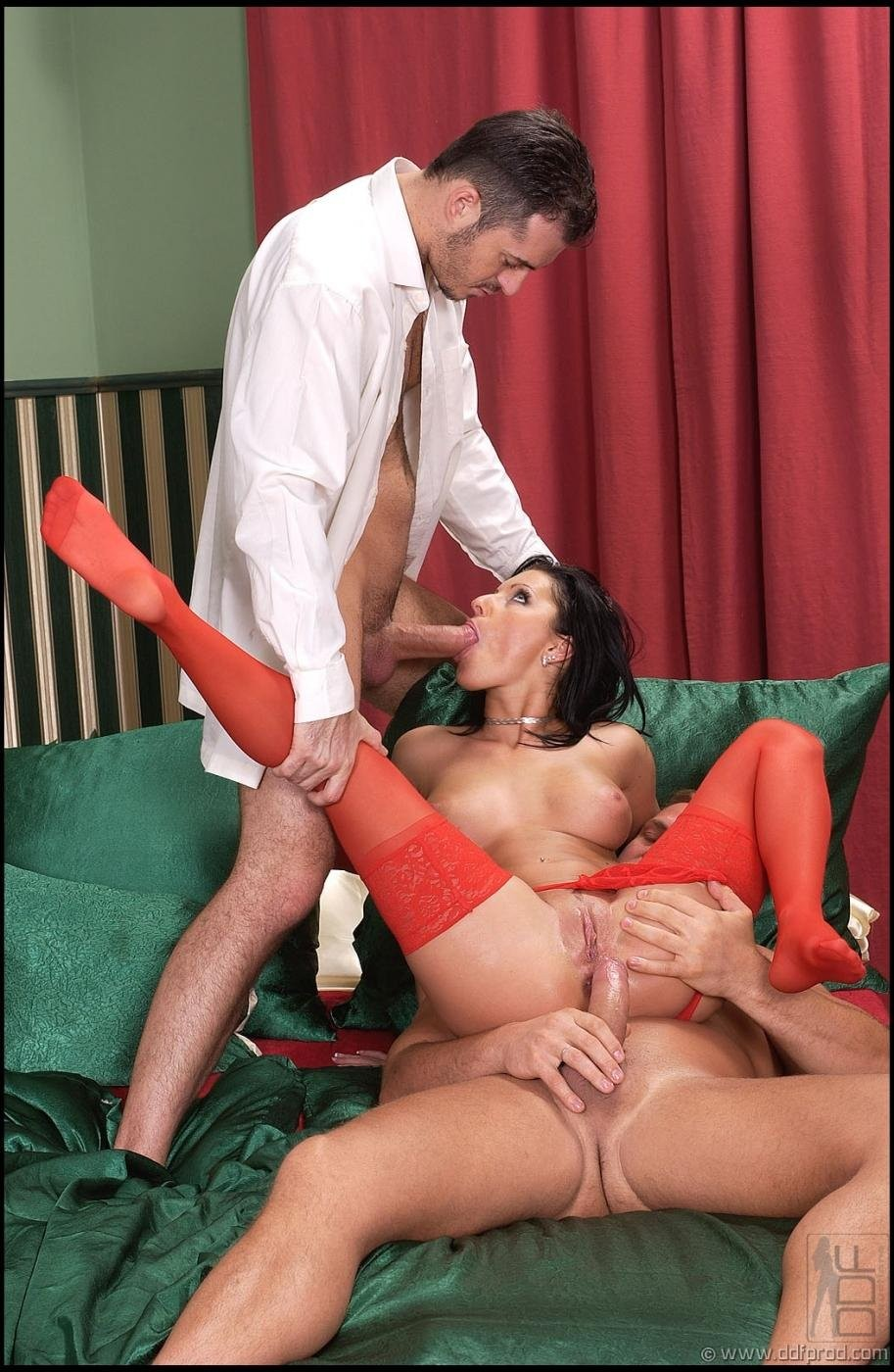 suprise anal threesome – Anal